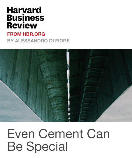 Even Cement Can Be Special