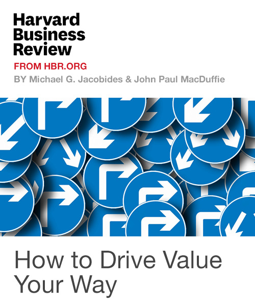 How to Drive Value Your Way