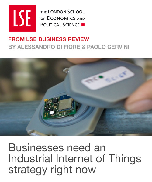 Businesses need an Industrial Internet of Things strategy right now