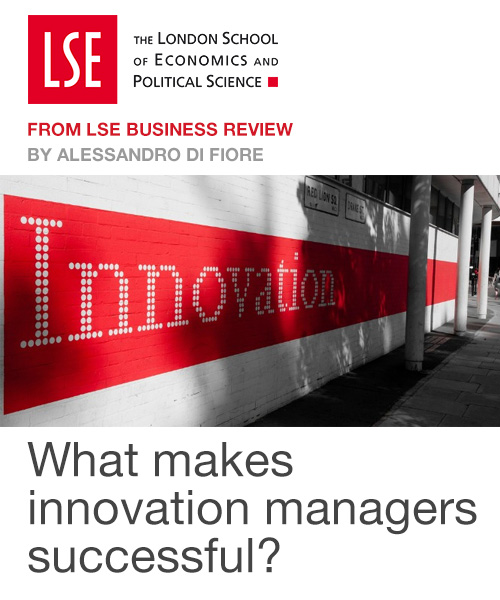 What makes innovation managers successful?