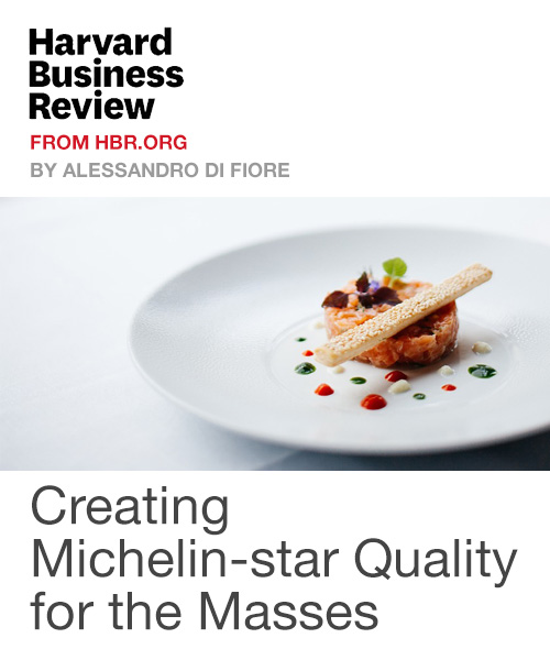 Creating Michelin-star Quality for the Masses