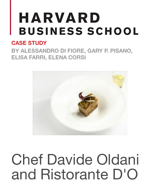 Chef Davide Oldani and Ristorante D'O