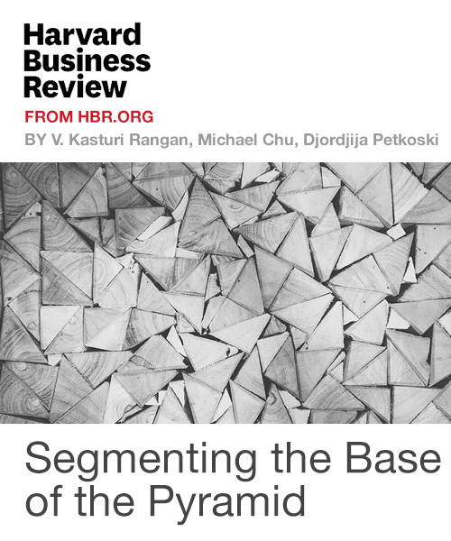 Segmenting the Base of the Pyramid