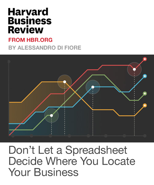 Don't Let a Spreadsheet Decide Where You Locate Your Business