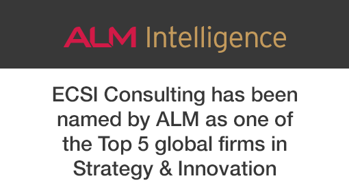 Named as a Top 5 global firm in Strategy and Innovation