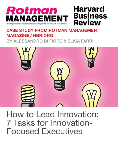 How to Lead Innovation: 7 Tasks for Innovation-Focused Executives