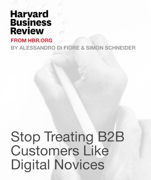 Stop Treating B2B Customers Like Digital Novices