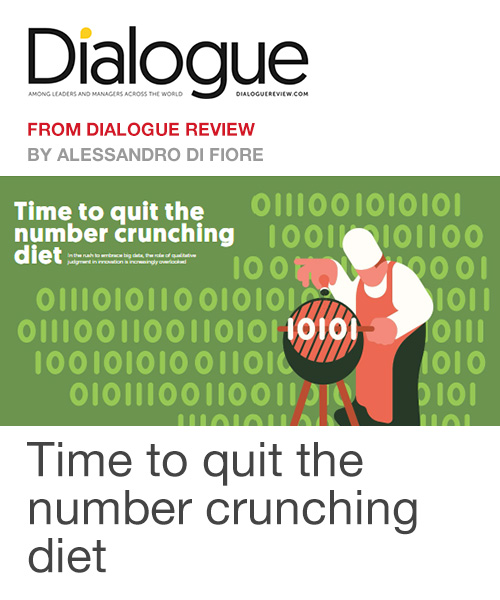 Time to quit the number crunching diet