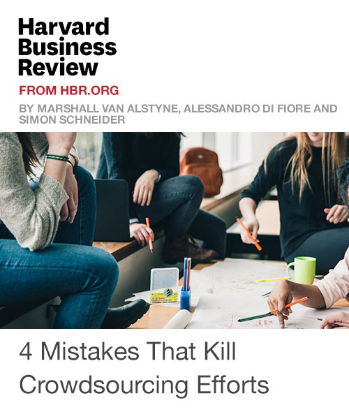 4 Mistakes That Kill Crowdsourcing Efforts
