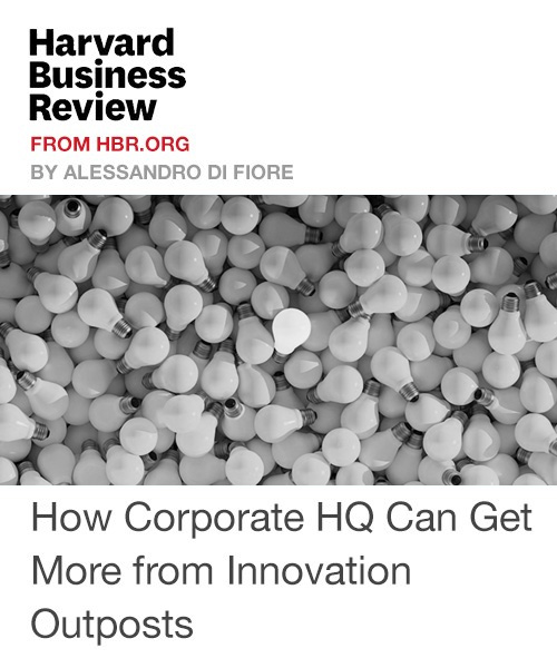 How corporate hq can get more from innovation outposts