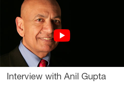 Interview with Anil Gupta