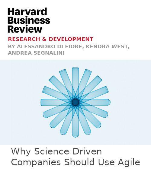 Why Science-Driven Companies Should Use Agile