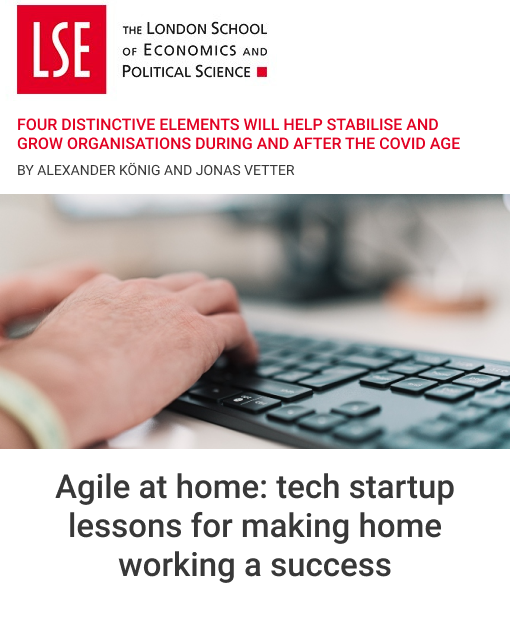 Agile at home: tech startup lessons for making home working a success