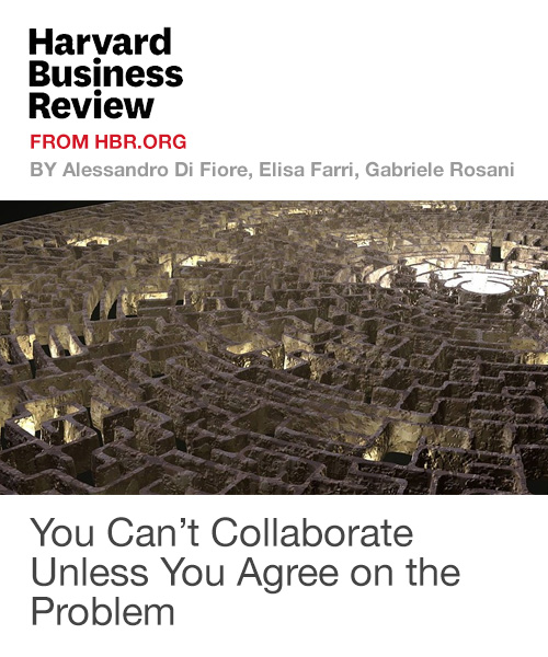 You Can't Collaborate Unless You Agree on the Problem
