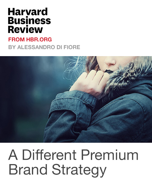 A Different Premium Brand Strategy
