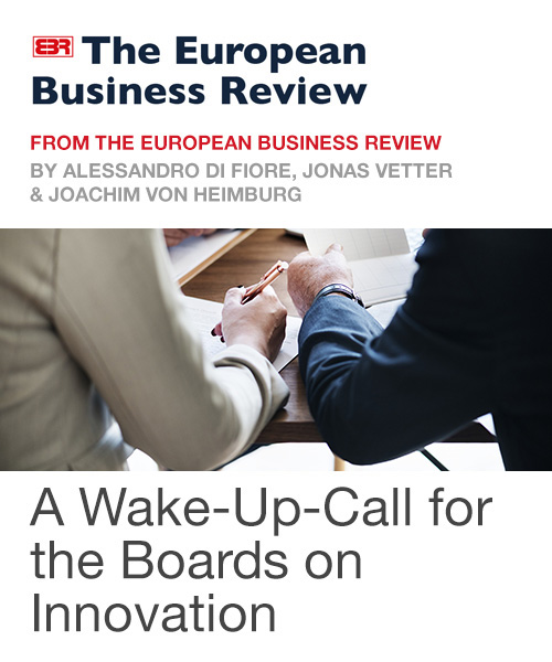 A Wake-Up Call for the Boards on Innovation
