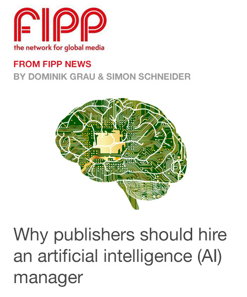 Why Publishers should hire an AI Manager