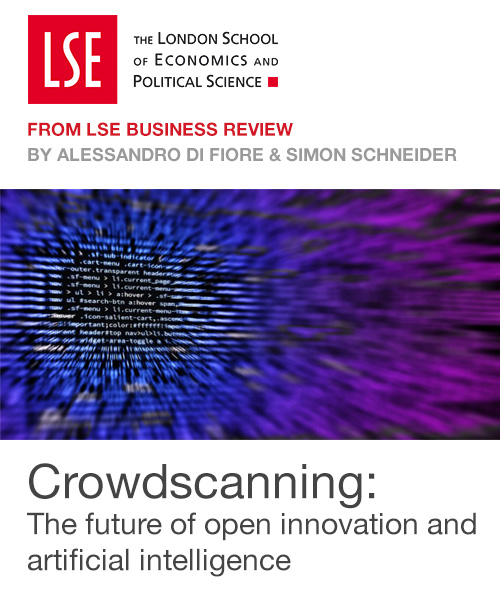 Crowdscanning: The future of open innovation and artificial intelligence
