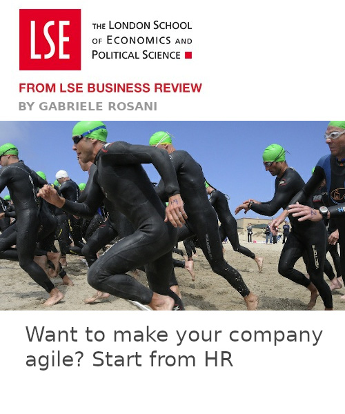 Want to make your company agile? Start from HR
