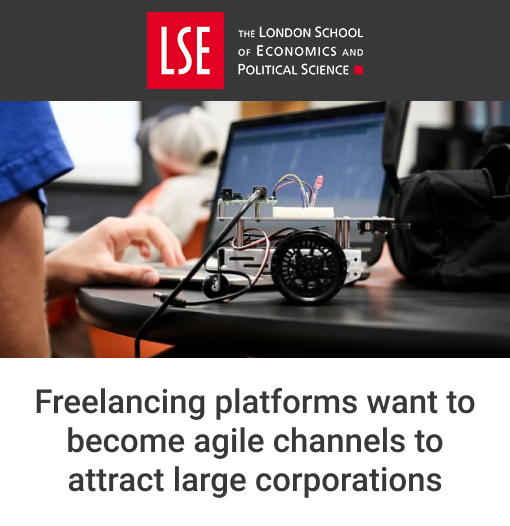 Freelancing Platforms Want to Become Agile Channels to Attract Large Corporations